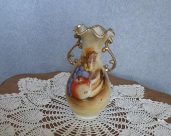 Vintage Enesco Flower Floral Vase Japan