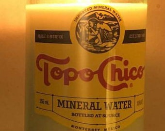 Topo Chico Candle