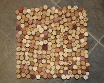 Wine Cork Board- End Pattern (14x14)