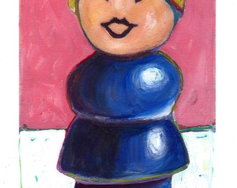 Fisher Price Little People MOM: Print on Paper