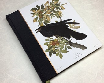 Journal or Sketchbook - Notebook, Diary, Raven Journal, Audubon