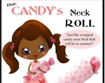 Pixie Candy's Neck Roll Tutorial - Learn How to Sew for Kids