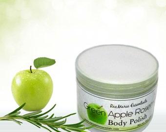 Green-Apple-Rosemary Body Polish