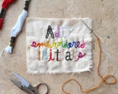 ADD Embroidered Initials