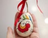 Easter Egg Decoration - Needle Felt Egg Ornament - Home Decoration - Spring Decoration - Handmade Egg - Home Decor - Colorful Egg