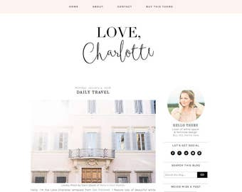 Wordpress themes and blogger templates by getpolishedcreative blogger template premade blogger template responsive blogger blogger theme fashion blog design pronofoot35fo Gallery