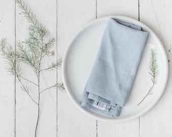 Washed linen napkins, Napkins, Stone washed napkins, Eco friendly, Wedding napkins, French linen, Natural linen