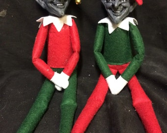 Pete the evil elf - an alternative elf for your shelf