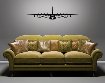 MC-130 - Front View - Removable Wall Art Vinyl Decal / Sticker