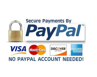 How to complete payment with credit card through PayPal ( Please DO NOT PURCHASE this list since this is instruction)
