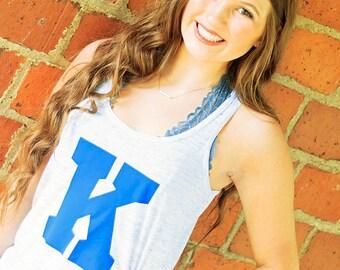 Kentucky Shirt / Kentucky Tank / SALE University of Kentucky / Kentucky Basketball / Wildcats / Kentucky Football / Racerback Tank / Power K