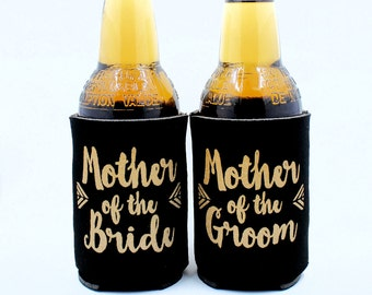 Bride Tribe Can Coolers, Mother of the Bride, Mother of the Groom, Can coolers