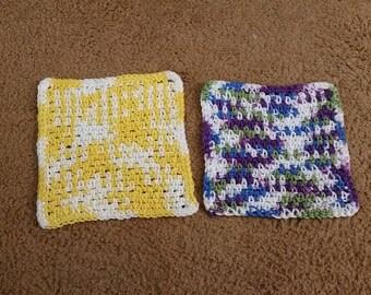 Dishcloth/crocheted