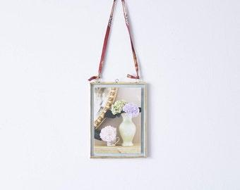 Brass Small Photo Frame // Brass Photo Frame // Portrait Brass // Brass Picture Frame // Brass Portrait Photo Frame // Brass Photo Display