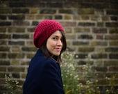Womens Slouchy Hat, Crochet Slouchy Hat, Women's Hat, Crochet Hat, Womens Accessories, Fall Fashion, Slouchy Beanie Hat,