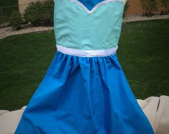 Disney Princess inspired dress up aprons ~ Elsa ~ Jasmine ~ Costume ~ Make Believe ~ Frozen ~ Aladdin