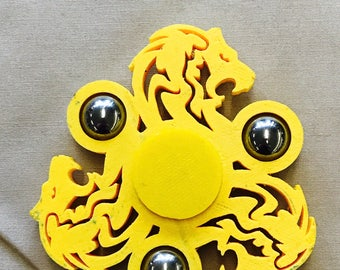 Lion Spinner- Fidget toy, Finger spinners, Stress Relief, House Lannister, Narnia, Aslan, simba