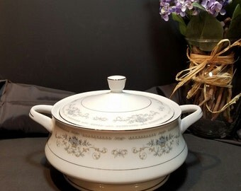 Diane Soup Tureen, Diane Fine China, Diane Covered Bowl, Vintage Covered Casserole, Dining and Serving, Gift Giving