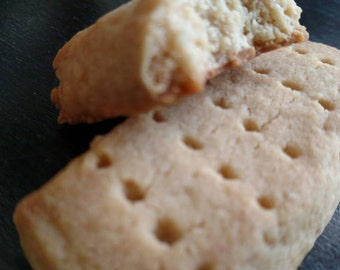 Low Carb High Protein Scottish Short Bread Fingers  (available in vegan and diabetic)