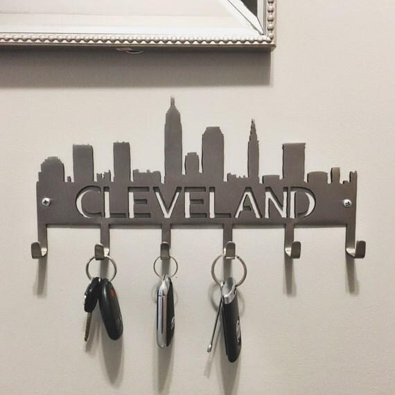 Cleveland Skyline Key Hooks- stainless steel