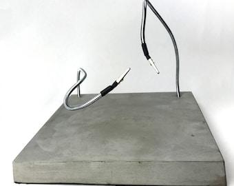 Concrete Helping Hands Soldering Workstation