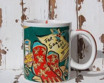Starbucks Christmas Mug Candle Home For the Holidays Mary Graves