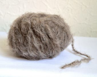 Fluffy alpaca wool yarns,  50g / 1,7 oz balls