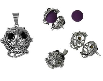 OWL silver cage mast 18mm creation of bolas