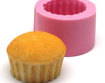 Miniature Cupcake 26mm silicone mould