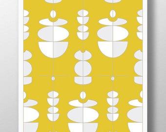 Yellow Wall Decor yellow wall decor | etsy
