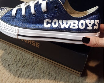 Bling dallas cowboy converse