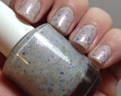 Opal Of My Eye  ~ Crelly Glitter Polish w/ Shimmer (Crazy 4 Crellies Group Custom)