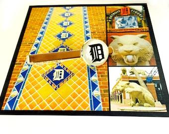 Detroit Tiger Old English D Tie Clip