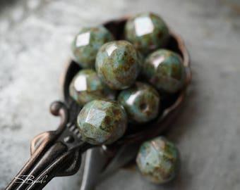 Fiji Luster, Czech Beads, Beads
