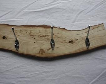 Wooden Coat Hook Rack