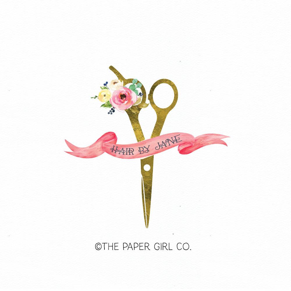 hair salon logo hair dresser logo hair stylist logo beauty