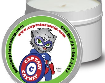 Captain Catnip Candles 16oz