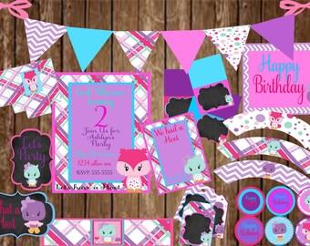 Owl theme party Etsy