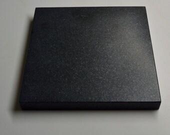 "Vibration Control Platform Granite Black Absolute Honed 16.75"" x 12.5"" x 1.25"""