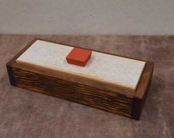 Handmade wooden keepsake box, memory box, anniversary box, decorative box, wooden box, wood box, cedar box