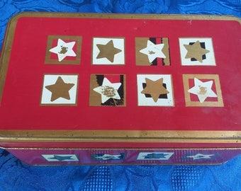 Vintage German Cookies Tin Vintage Cookies Box