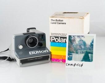 "Polaroid ""The Button"" Land Camera"
