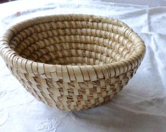 Small sweet grass basket