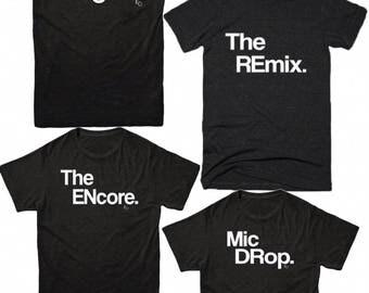 Camisas de entrenamiento divertido   Amigo regalos   Camisas de gimnasio   El Original   El Remix   Regalos divertidos   Ropa para mujer   Tamaño unisex   Camisetas divertidas   TS