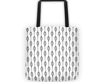 Graphic Tote Bag - Tote Bag - Boho style bag
