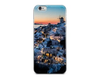 Santorini Sunset, Greek Island Phone Case, iPhone 5/5s/SE,iPhone 6/6s, iPhone 6 plus/6s plus, iPhone 7/7 Plus