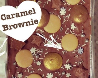 Caramel Brownie, Chocolate Brownie with Caramel, Caramel Traybake, Family Sharer, Cara.el Lover, Chocolate Lover