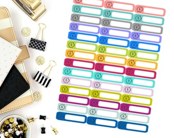 Savings Mini Label Stickers! Perfect for your Erin Condren Life Planner, calendar, Paper Plum, Filofax!