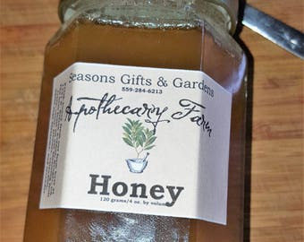 Apothecary Farm Natural Wildflower Honey