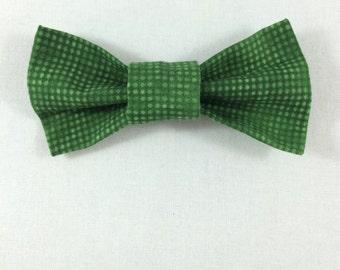 Green Cat Bow tie, Cat tie, Cat Bow tie collar